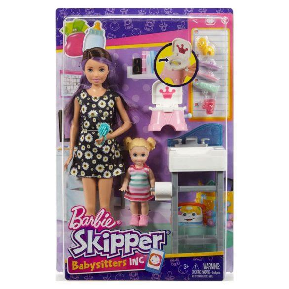 Barbie si Familia Setul de Joaca cu Bebelus si Olita 9