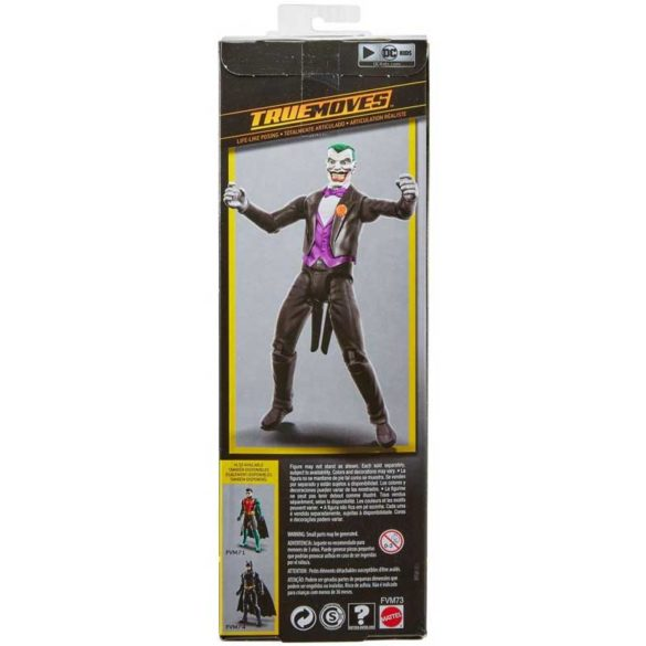 Batman Missions Figurina The Joker cu Miscari Reale 6