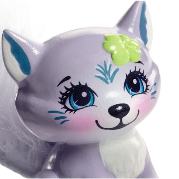 Enchantimals Papusa Winsley Wolf si Figurina Trooper 7