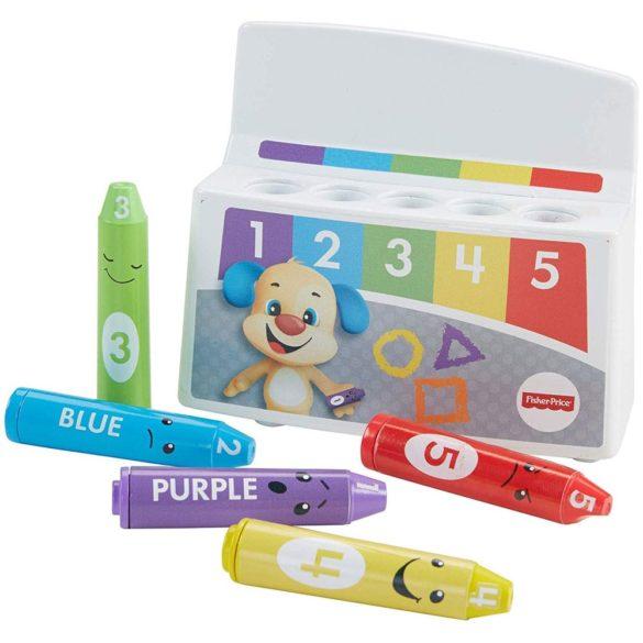 Fisher Price Radem si Invatam cu Creioane Colorate 2
