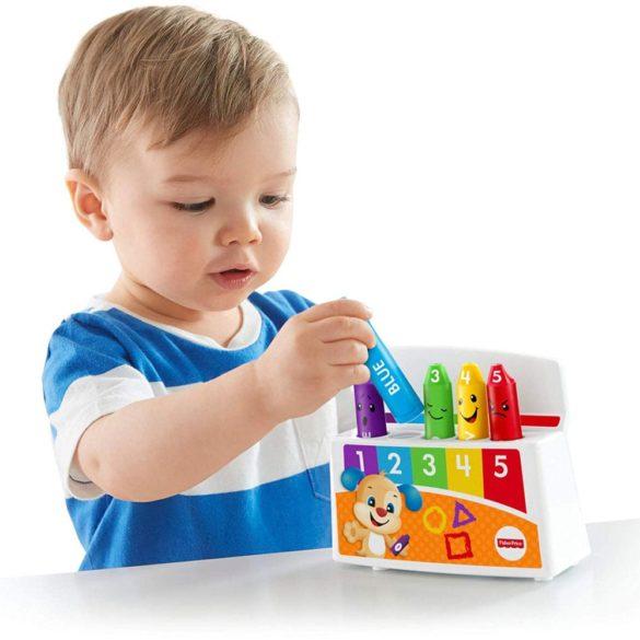 Fisher Price Radem si Invatam cu Creioane Colorate 4
