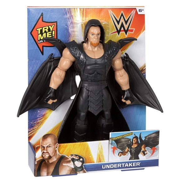 WWE Figurina Mare Undertaker cu Aripi 30 Cm. 5
