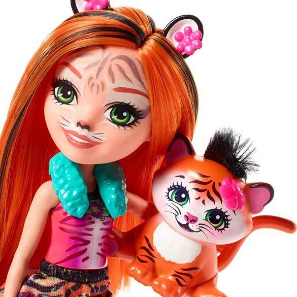 Enchantimals Papusa Tanzie Tiger si Figurina Tigru 3