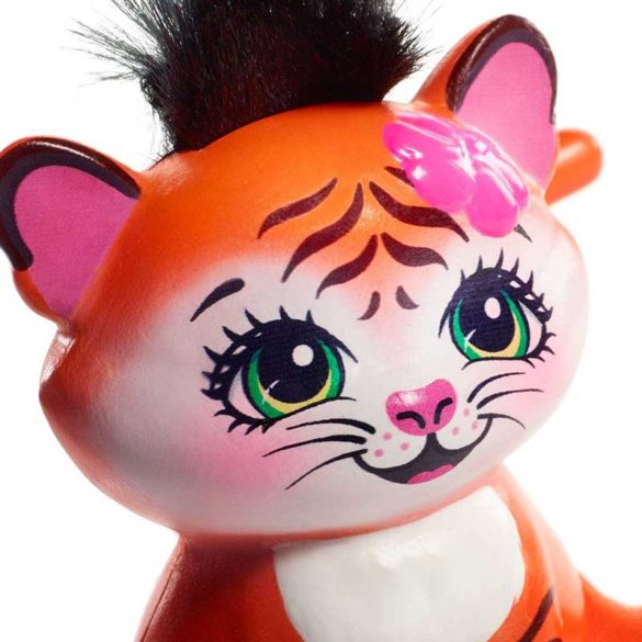 Enchantimals Papusa Tanzie Tiger si Figurina Tigru 7