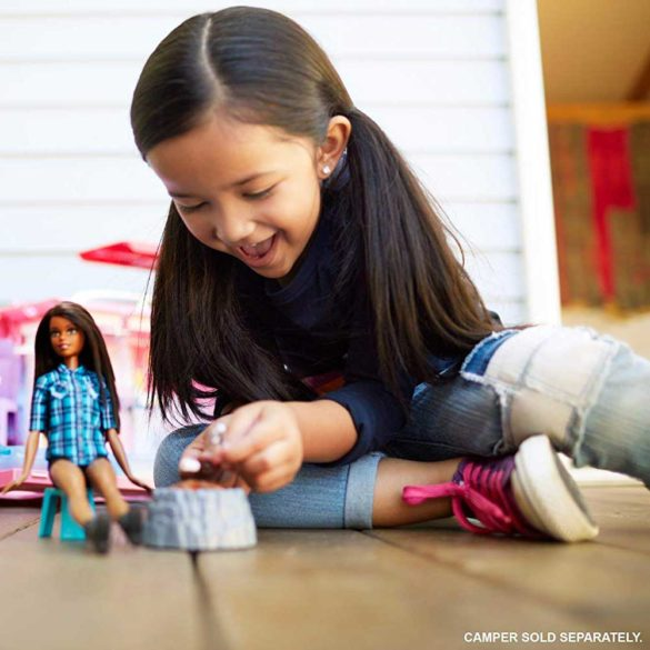 Pausa Barbie si Focul de Tabara Camping Fun 6
