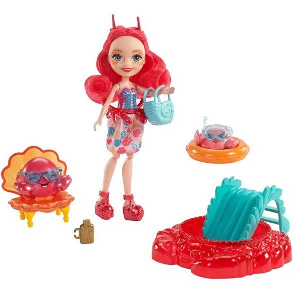 Set de Joaca Enchantimals Papusa Cameo Crab si Courtney 1