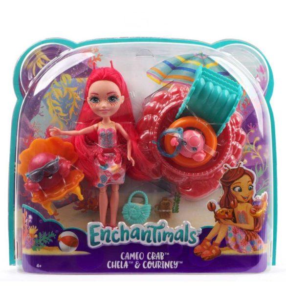 Set de Joaca Enchantimals Papusa Cameo Crab si Courtney 10