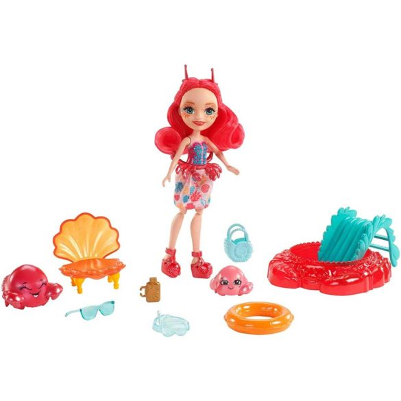 Set de Joaca Enchantimals Papusa Cameo Crab si Courtney 2
