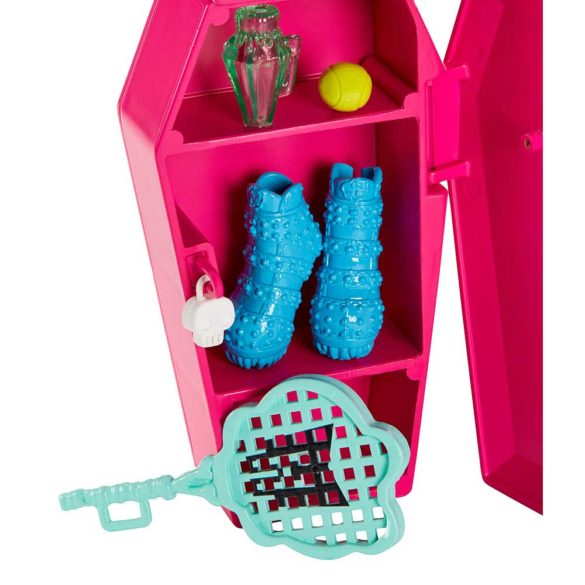 Set de Joaca Vestiarul Monster High si Papusa Frankie Stein 3