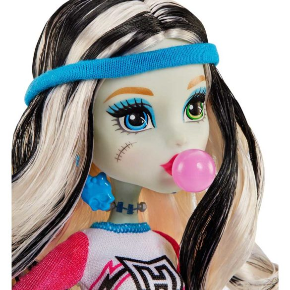 Set de Joaca Vestiarul Monster High si Papusa Frankie Stein 8