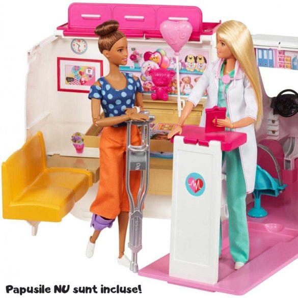 Ambulanta Barbie Masina de Ajutor 5