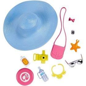 Barbie Accesorii pentru Papusa - Pachetul cu Palarie de Plaja