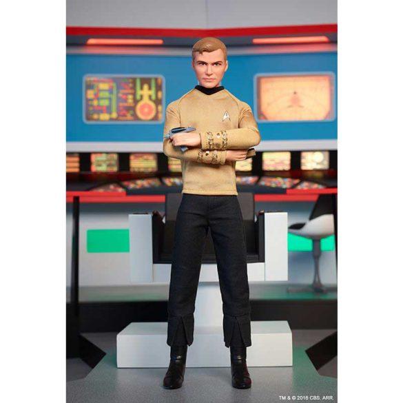 Barbie Aniversarea de 50 de ani Star Trek Papusa Kirk 6