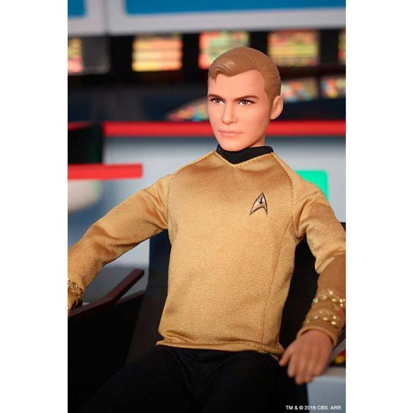 Barbie Aniversarea de 50 de ani Star Trek Papusa Kirk 7