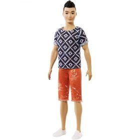 Barbie Fashionistas Papusa Ken 115 Imprimeu Geometric