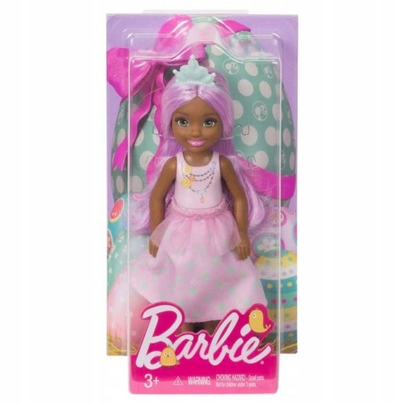 Barbie Happy Easter Papusa Chelsea Roz 3