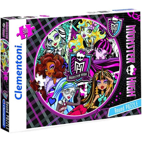 Puzzle Monster High Model Rotund 500 Piese