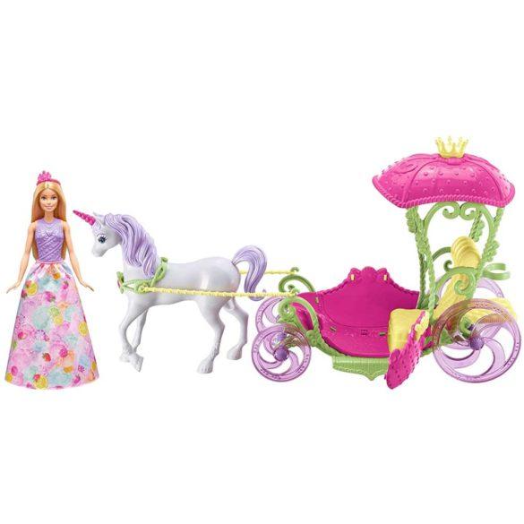 Set de Joaca Mattel Barbie Dreamtopia Papusa si Trasura Sweetville 1