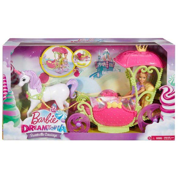 Set de Joaca Mattel Barbie Dreamtopia Papusa si Trasura Sweetville 6