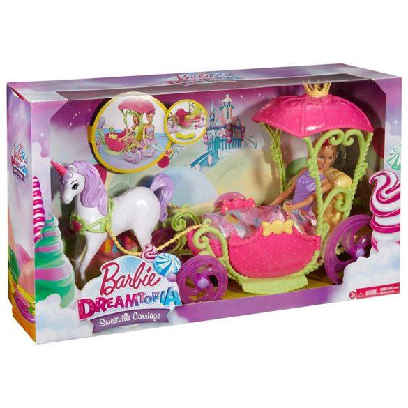 Set de Joaca Mattel Barbie Dreamtopia Papusa si Trasura Sweetville 7