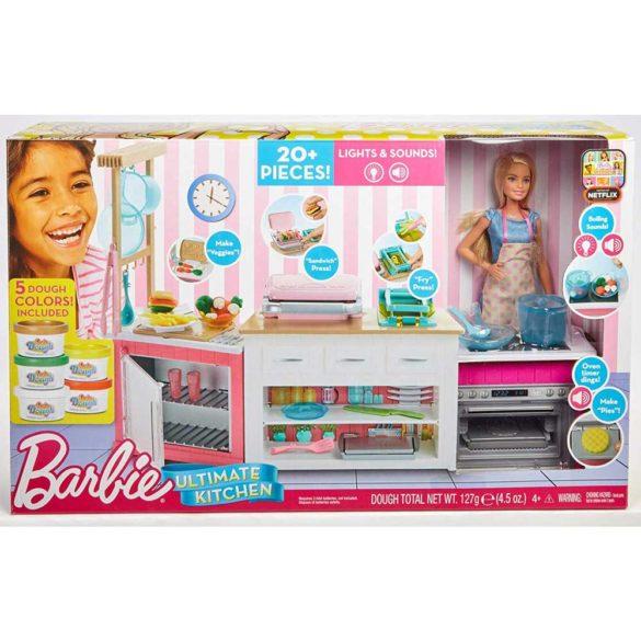 Set de joaca Mattel Barbie Bucataria utilata papusa inclusa 10