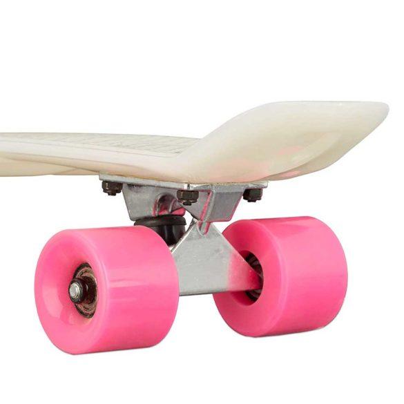 Skateboard 22 inch Placa Alba Roti Roz ABEC 7 2