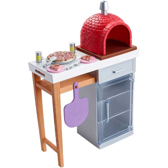 Accesorii Barbie Mobilier Gratarul de Pizza 3