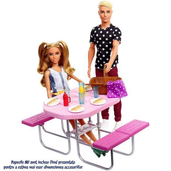 Accesorii Barbie Mobilier Masa pentru Picnic 3