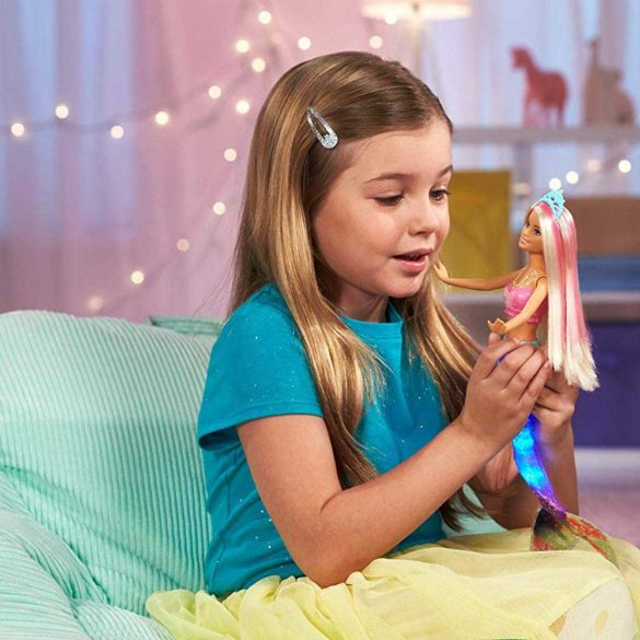 Barbie Dreamtopia Sirena cu Lumini Stralucitoare 6