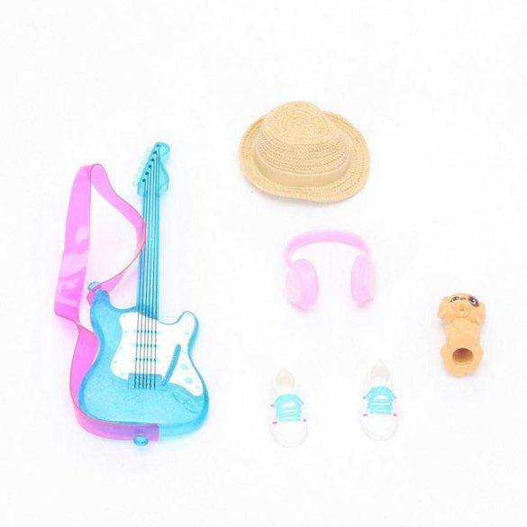 Barbie Set de Accesorii Pink Envelope Chitara Albastra 3