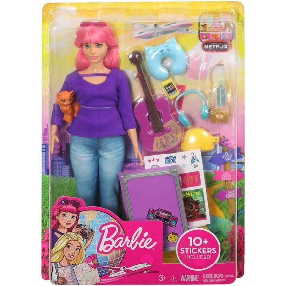 Barbie in Calatorie Papusa Daisy cu Accesorii 9