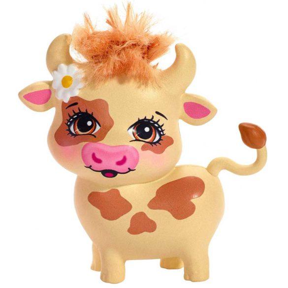 Enchantimals Papusa Cailey Cow si Figurina Curdle 6