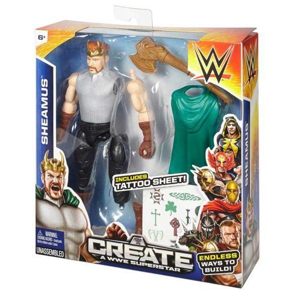 Figurina WWE Creeaza un Superstar Sheamus 4
