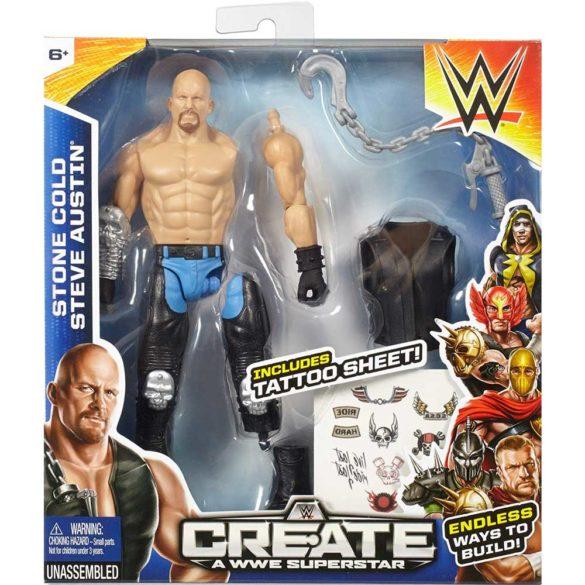 Figurina WWE Creeaza un Superstar Stone Cold 4
