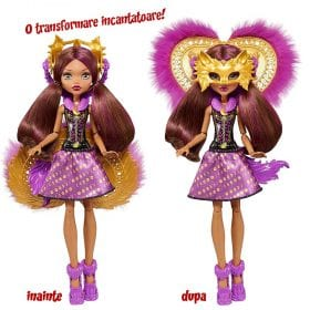 Monster High Transformarea Papusa Clawdeen Ghoul To Wolf