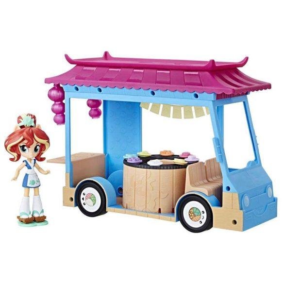 My Little Pony Set de Joaca Camionul de Sushi si Papusa Sunset 2