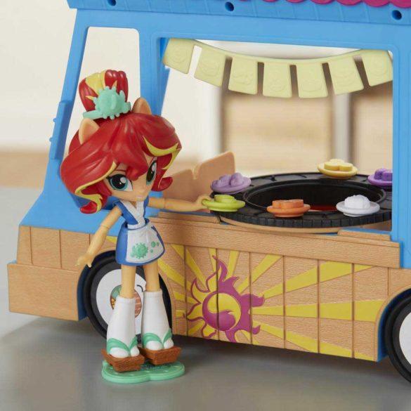 My Little Pony Set de Joaca Camionul de Sushi si Papusa Sunset 3