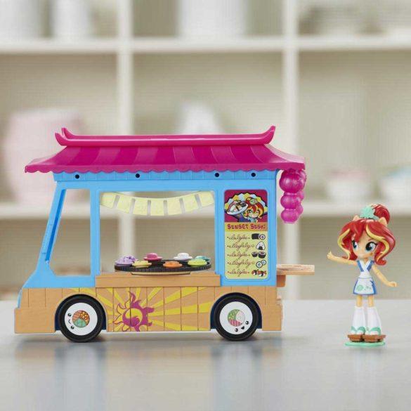 My Little Pony Set de Joaca Camionul de Sushi si Papusa Sunset 4