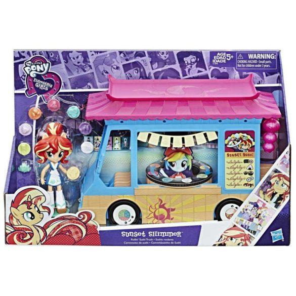 My Little Pony Set de Joaca Camionul de Sushi si Papusa Sunset 6