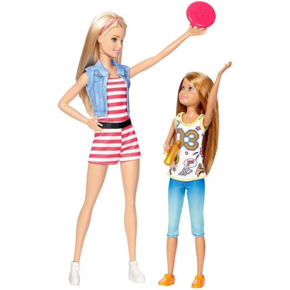 Pachet de doua Papusi Barbie Stacie Joaca in Natura 2