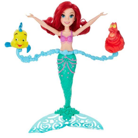 Papusa Ariel Se Invarte Si Inoata Disney Princess Spin Swim 1