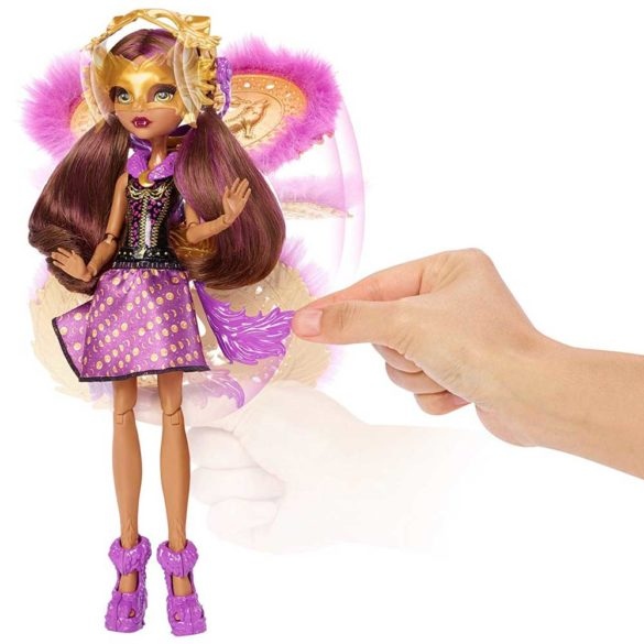 Papusa Clawdeen Wolf Transformarea Monster High Ghoul To Wolf 8