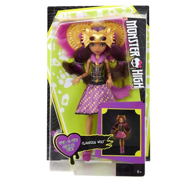 Papusa Clawdeen Wolf Transformarea Monster High Ghoul To Wolf 9