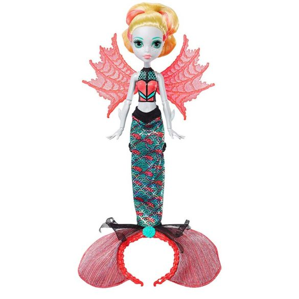 Papusa Lagoona Blue Transformarea Monster High Ghoul To Mermaid 1