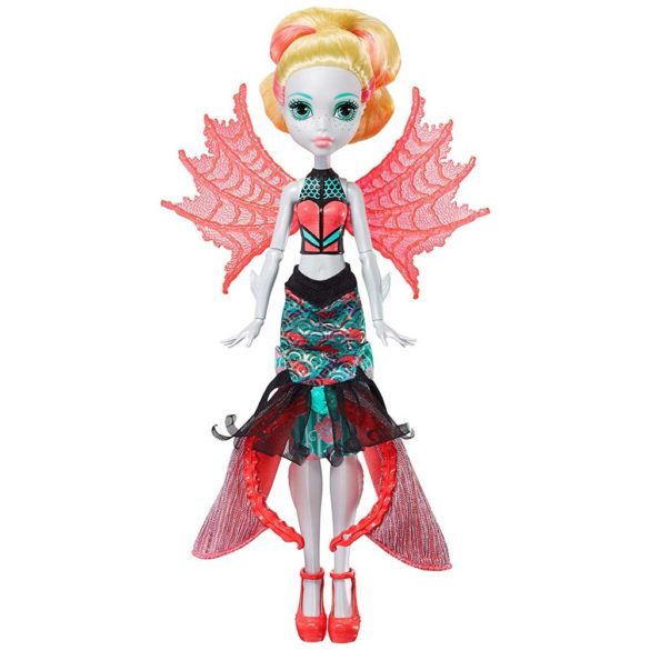 Papusa Lagoona Blue Transformarea Monster High Ghoul To Mermaid 2