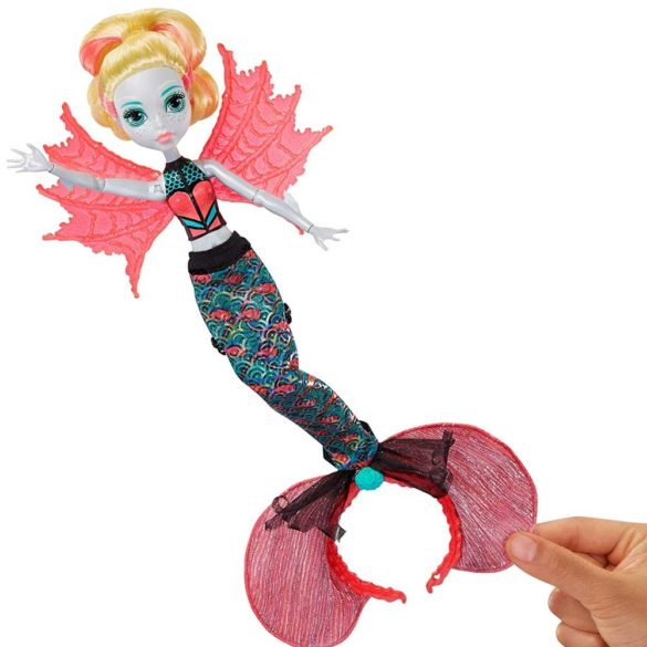 Papusa Lagoona Blue Transformarea Monster High Ghoul To Mermaid 5