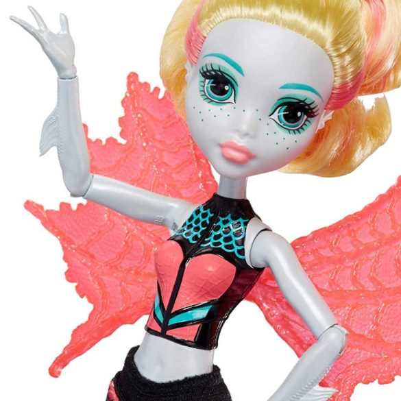 Papusa Lagoona Blue Transformarea Monster High Ghoul To Mermaid 6