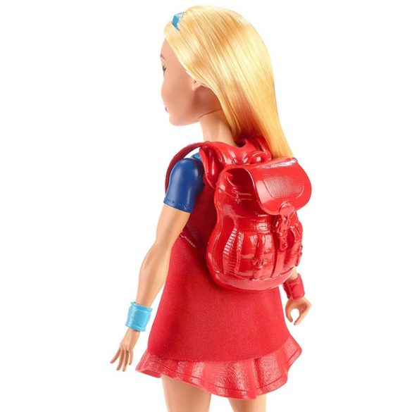 Papusa Supergirl si Mobilierul Vestiar DC Super Hero Girls 4