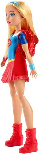 Papusa Supergirl si Mobilierul Vestiar DC Super Hero Girls