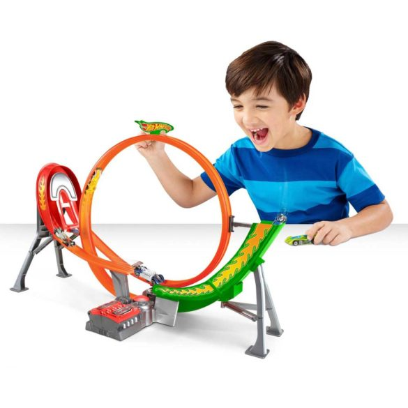 Pista Hot Wheels Power Shift Raceway cu 5 Masinute 2